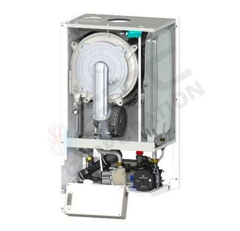Centrala termica in condensare Motan MKDens25  C38GC25-P , hidrobloc compozit, kit evacuare inclus