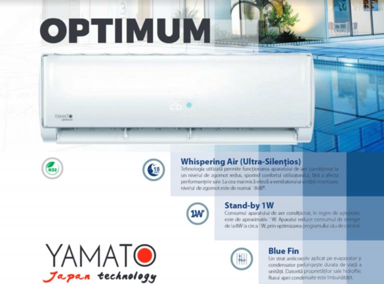 Aparat de aer conditionat Yamato Optimum R32 YW24IH1 Inverter 24000 BTU